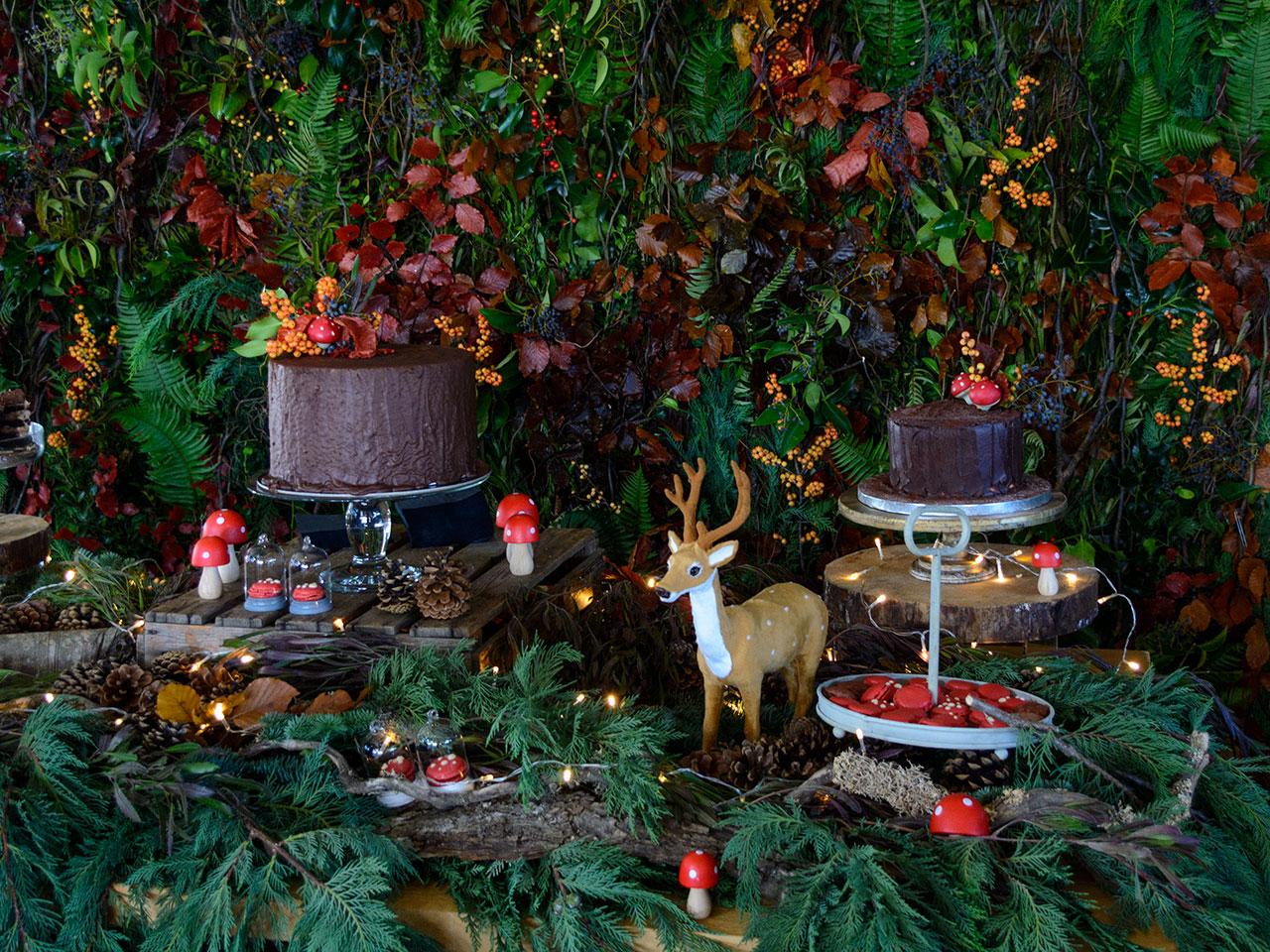 Candy bar με θέμα το δάσος