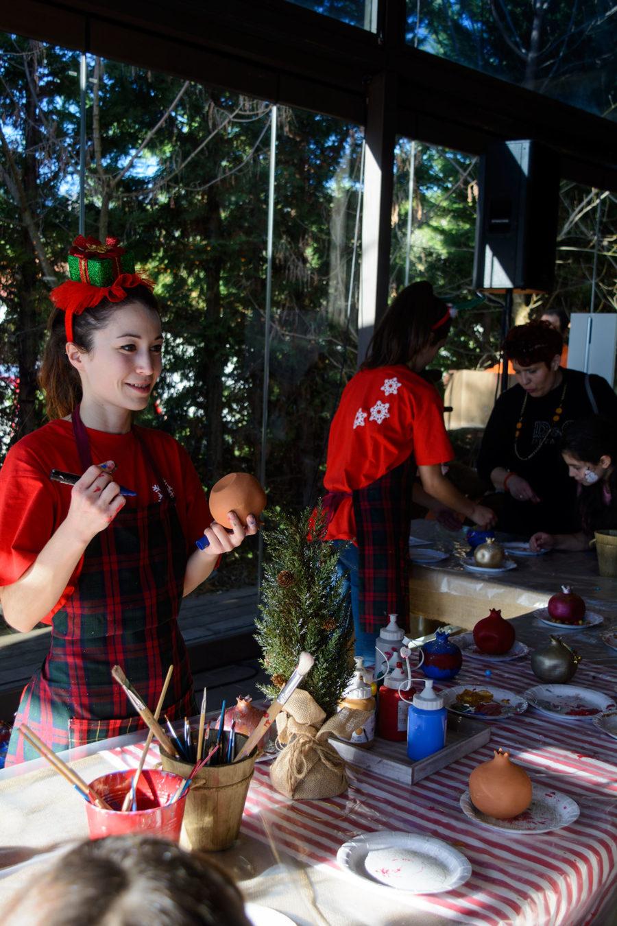 Χριστουγεννιάτικες κατασκευές με τα ξωτικά