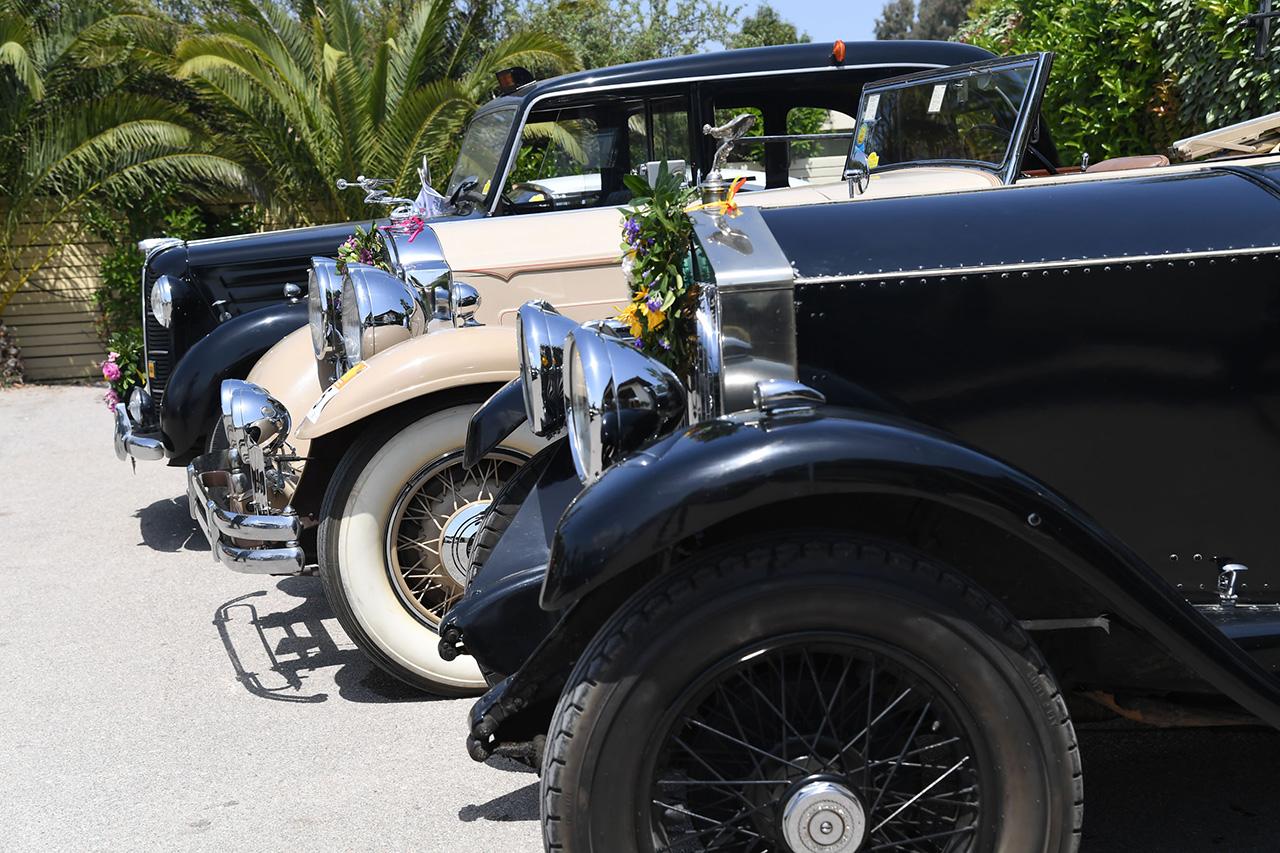 Ιστορικά αυτοκίνητα αντίκες στο Κτήμα Αριάδνη