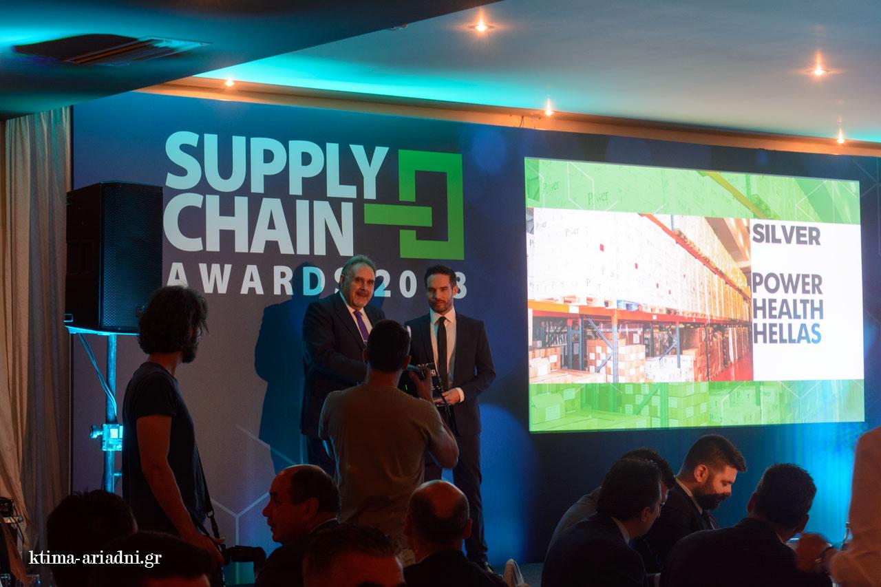 Στιγμές από την Τελετή Απονομής των Supply chain awards