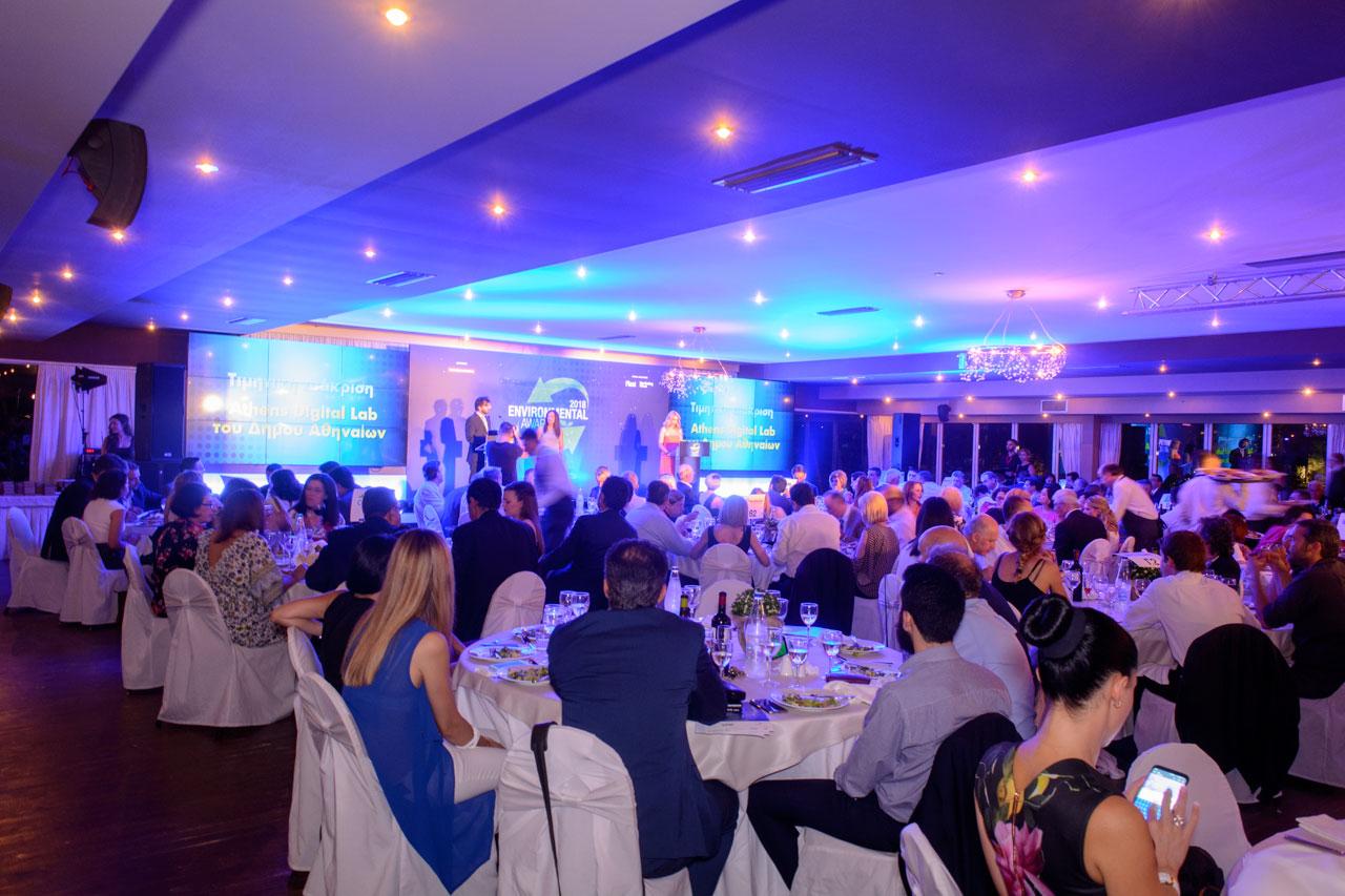 Οι καλύτερες πρακτικές και οι δράσεις για το περιβάλλον είχαν την τιμητική τους στα Environmental awards στο Κτήμα Αριάδνη στη Βαρυμπόμπη