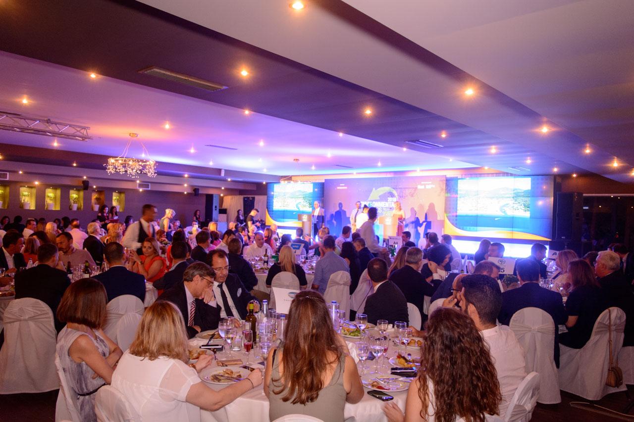 Η Inspire Events είχε αναλάβει τον συντονισμό, την φιλοξενία, το φαγητό και τις υπηρεσίες για τη βραδιά της απονομής των βραβείων
