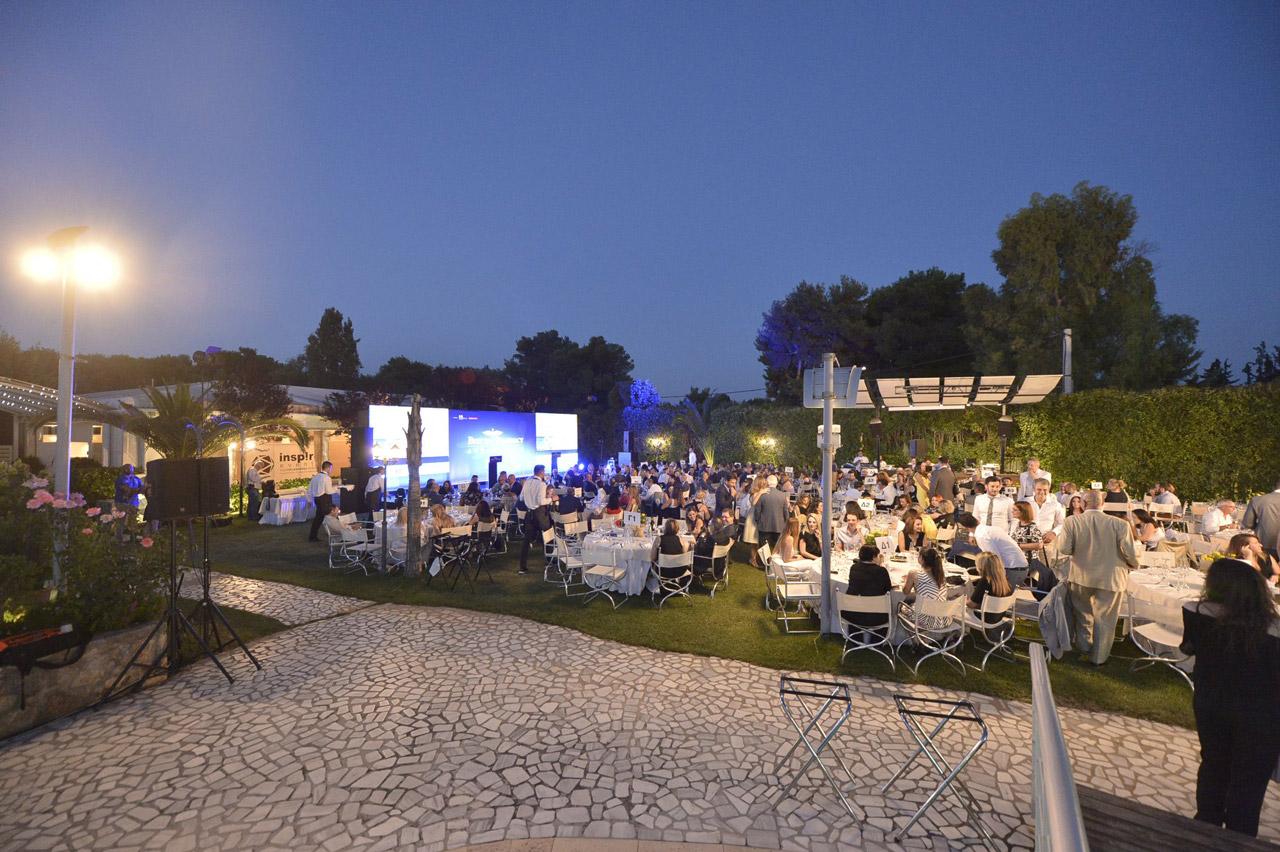 Γενική άποψη του κτήματος Αριάδνη από την βραδιά της Απονομής των Βραβείων Best in Pharmacy Awards