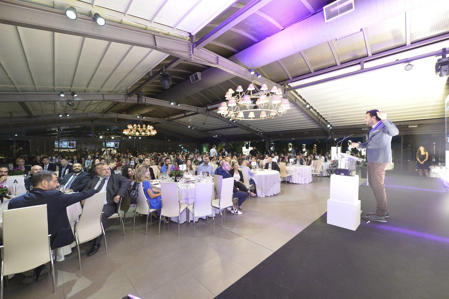 Στιγμιότυπα από την εκδήλωση των Mobile Excellence Awards