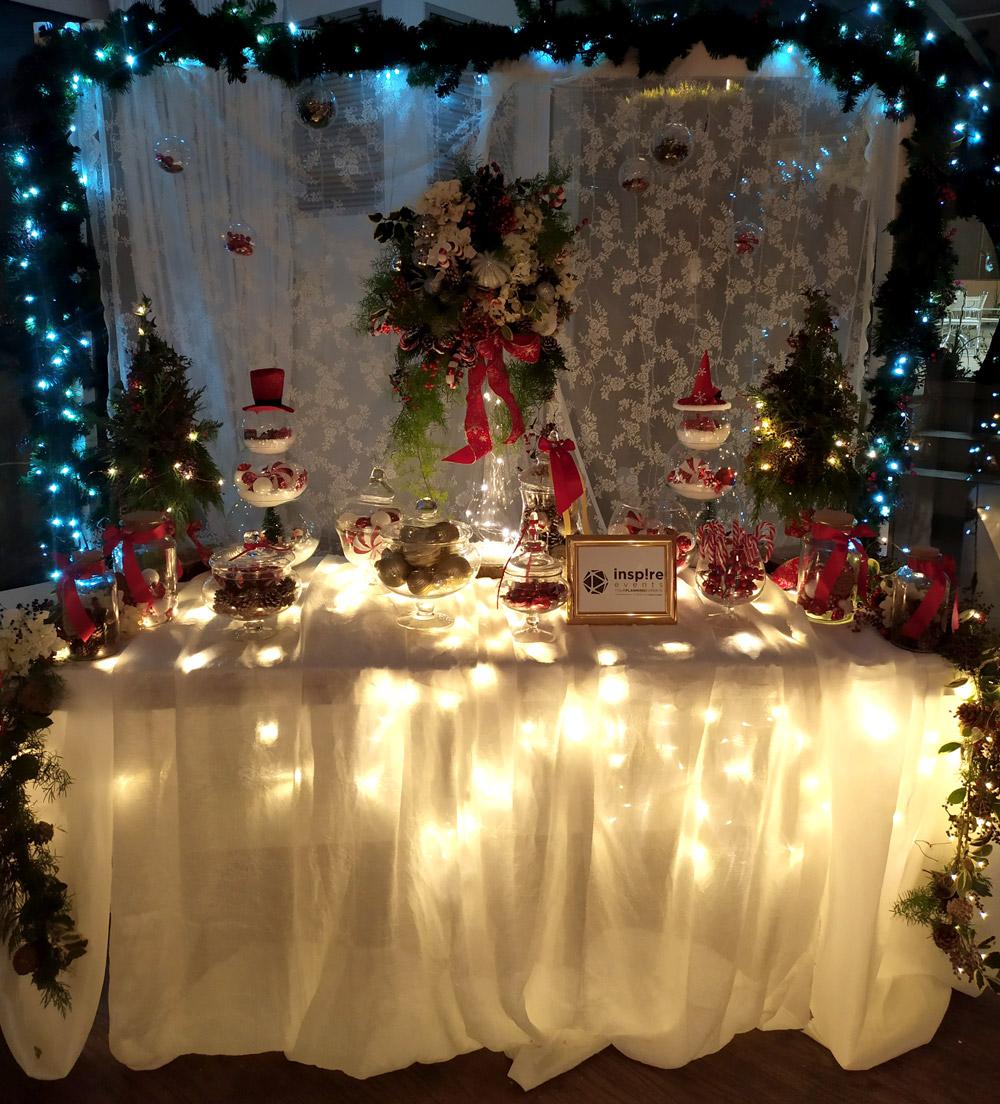 Χριστουγεννιάτικη διάθεση από την Inspire Events στο Συνέδριο 1st Dairy Conference της Boussias Communications