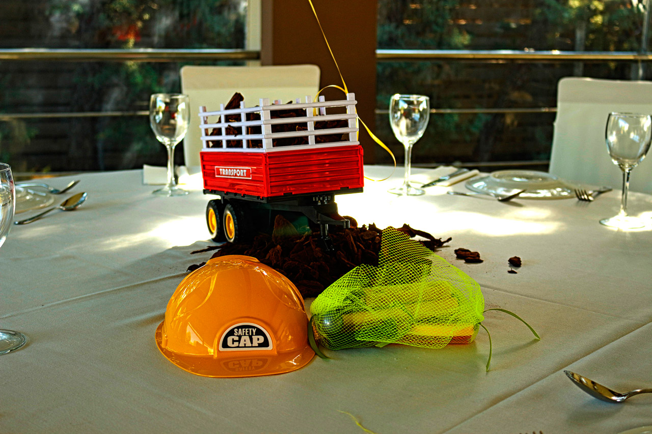 thematika paidika party constructions engineer builder safety cap